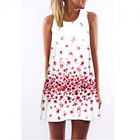 Платье с цветочным принтом РМ7160