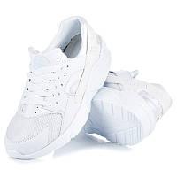 Женские модные белые кроссовки копия Nike Air Huarache
