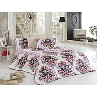 Двуспальное постельное бельё Zambak 6814 CB10