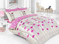 Комплект постельного белья двуспальный евро  Eva Majoli B08