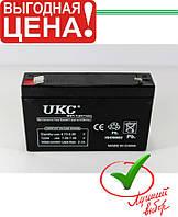 Аккумулятор 6V 7A UKC