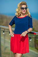 Платье-двойка состоит из легкого льняного сарафана и кофточки. Она сочетает в себе все аспекты модного look.