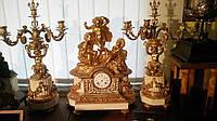 Каминные часы Путти  нач. 19 века Франция