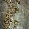 Бежевый муар бежевый лист
