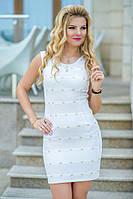Платье облегающего силуэта выполнено из красивого турецкого жакарда.