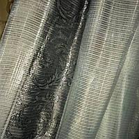 Тюль люрекс серебряно серый, фото 1