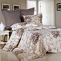 Сатиновое двуспальное постельного белья Valtery C-150 CB19