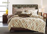 Сатиновое двуспальное постельного белья Valtery C-189 CB19