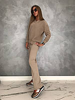 Женские вязанные костюмы из хлопка, фото 1