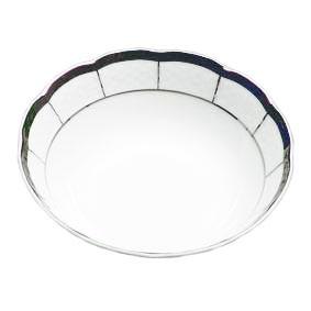 Салатник Thun Menuet (Обводка платина) d16 см фарфор (7224800)
