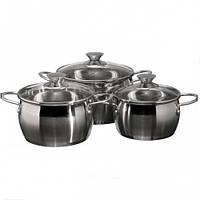 Набор посуды Lessner Provence 6 предметов нержавейка (55863 LS)