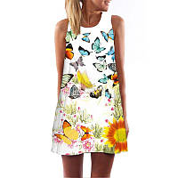 Платье с летним рисунком РМ7163