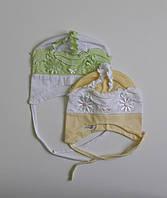 Летние шапочки/чепчик для новорожденных