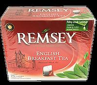 Чай черный в пакетиках Remsey English Breakfast Tea (75 пакетиков)