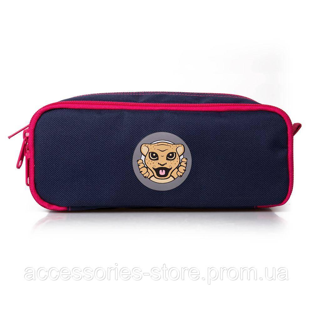 Детский пенал Jaguar Kids Pen Case, Navy/Pink