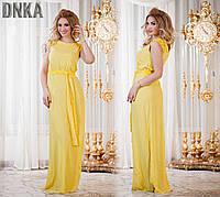 Яркое батальное платье в пол (3 цвета), фото 1