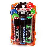 Набор бальзамов для губ Lip Smacker M&M's со вкусом шоколада, фото 1