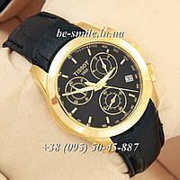 Tissot quartz Chronograph Black/Gold/Black