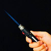Портативная газовая горелка зажигалка для походов или кухни!, фото 1
