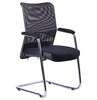Кресло Аэро CF сиденье сетка Черная, Неаполь N-20/Спинка сетка черная