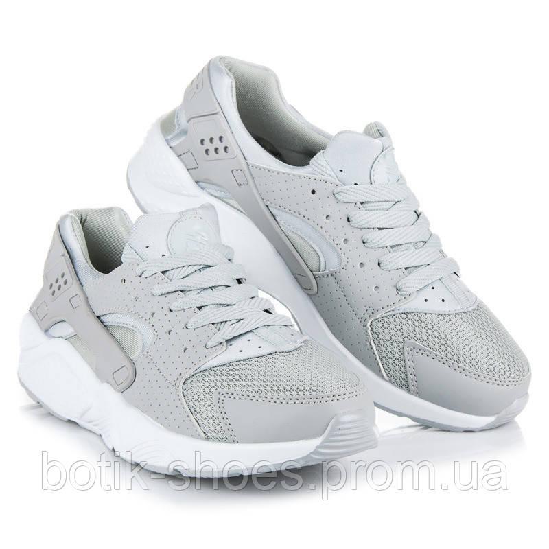 596f77b838da9b Женские модные легкие серые кроссовки копия Nike Air Huarache Найк Хуарачи  - интернет-магазин обуви