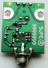 Усилитель антенный  SUPER 9999999(DVB-T2/ДМВ; 32-36дБ; 3-12В) .