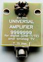 Усилитель антенный  SUPER 9999999(DVB-T2/ДМВ; 32-36дБ; 3-12В) ., фото 2