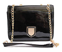 Женская сумка на плечо, через плечо Q-3 Черный, Синий, Серый
