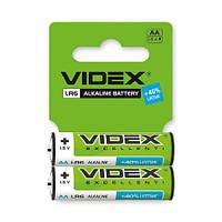 Videx Батарейка щелочная LR6/AA 2 шт, фото 1