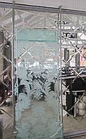 Стеклянные раздвижные двери Киев, купить