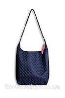 Молодежная стеганая сумка  Мэри синяя. Разные цвета