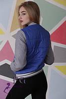 Женская куртка на синтепоне из плащевки