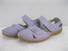 Женские сандалии в спортивном стиле натур кожа размер 41