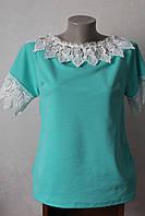 Блуза с кружевом, фото 1
