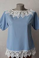 Блуза з кружевом - 2