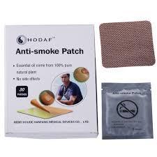 Пластырь против курения