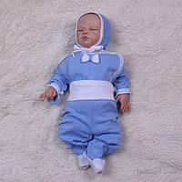 """Набор для новорожденных """"Малыш"""", голубой, 3-х предметник"""