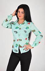 Привлекательная женская рубашка размеры 44,46,48,50, фото 3