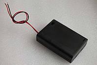 Бокс для 3х АА блок холдер крепеж короб держатель коробка крепление бокс батарейный отсек аккумуляторный
