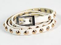 Ремень-браслет женский Fancy Gindy White