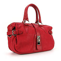 Мягкая женская сумка красная дамская Valensiy