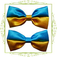 Галстук бабочка Флаг Украины