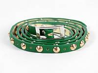 Ремень-браслет женский с шипами Fancy Gindy Green