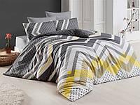Двуспальное постельное бельё Eponj Home KERRY GRI SV10