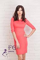 Элегантное приталенное платье для самых стильных девушек