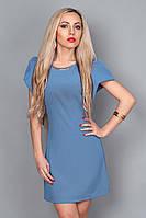 Платье мод. 239-14,размер 44,46 светло голубой
