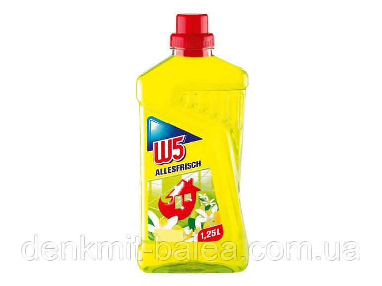 Засіб для миття підлоги з квітковим ароматом W5 Allesfrisch 1250 мл