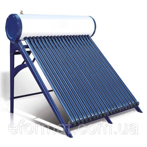 Термосифонний сонячний колектор з вакуумними трубками Heat pipe AXIOMA energy AX-20D, 200 л/добу