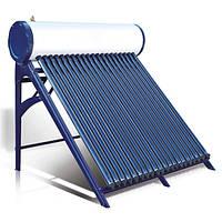 Термосифонний сонячний колектор з вакуумними трубками Heat pipe AXIOMA energy AX-30D, 300 л/добу