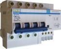 Дифференциальный выключатель АСКО ДВ-2006 4р, С 25А -30мА